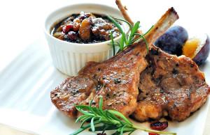 Lamb Chops with Chutney - Everyday Diabetes Magazine